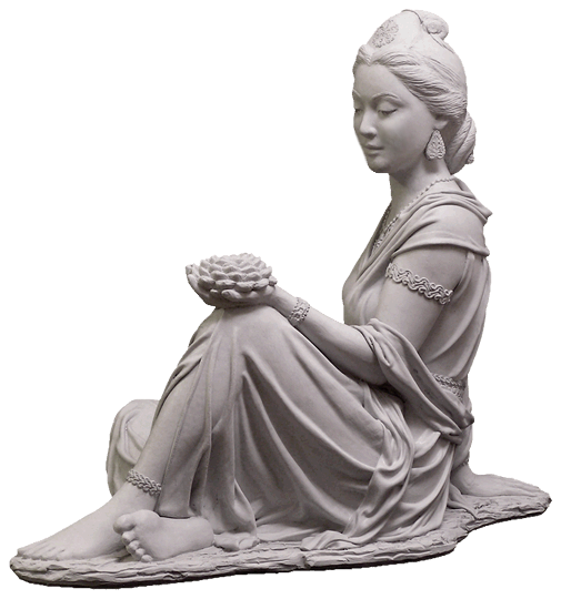 Quan Yin Goddess Of Compassion And Mercy With Lotus Outdoor Statue For Sale  ...